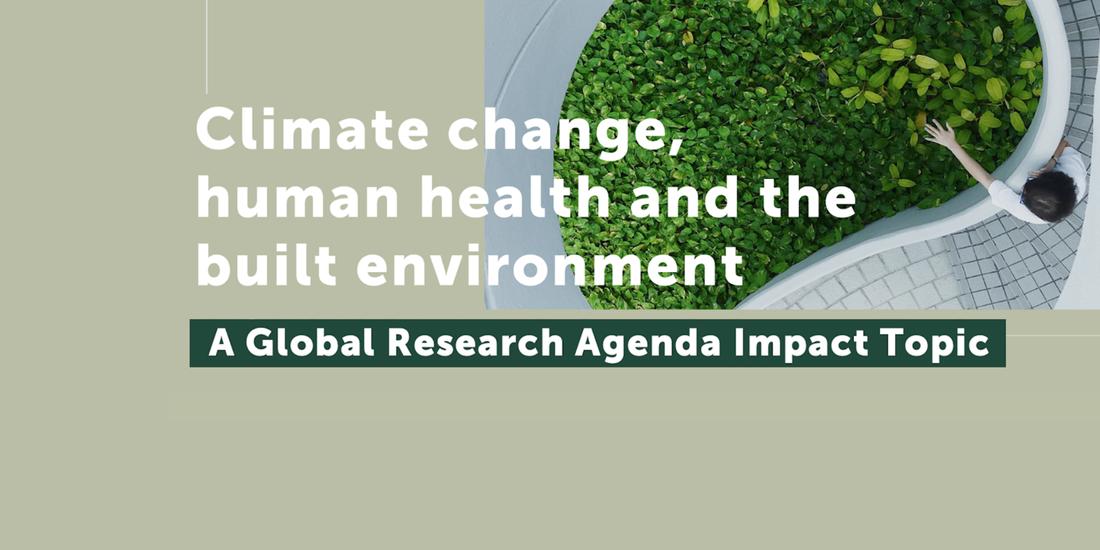 IWBIグローバル・リサーチ・アジェンダ:健康と気候変動の統合