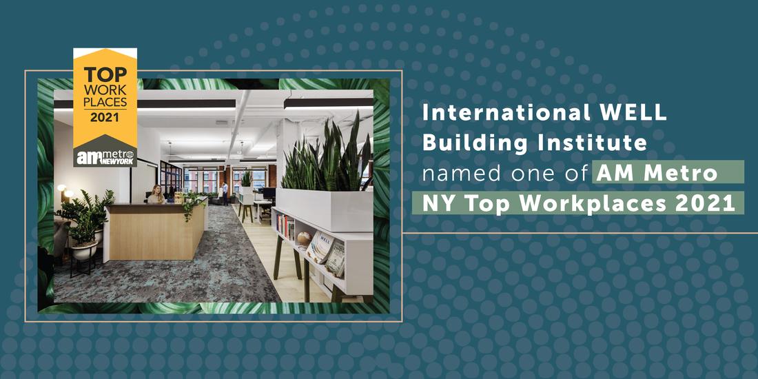 International WELL Building Instituteが2021年のTop Workplaces賞を受賞しました