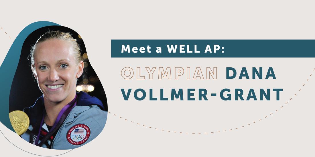 WELL APに会う:オリンピックのダナ・ボルマーグラント